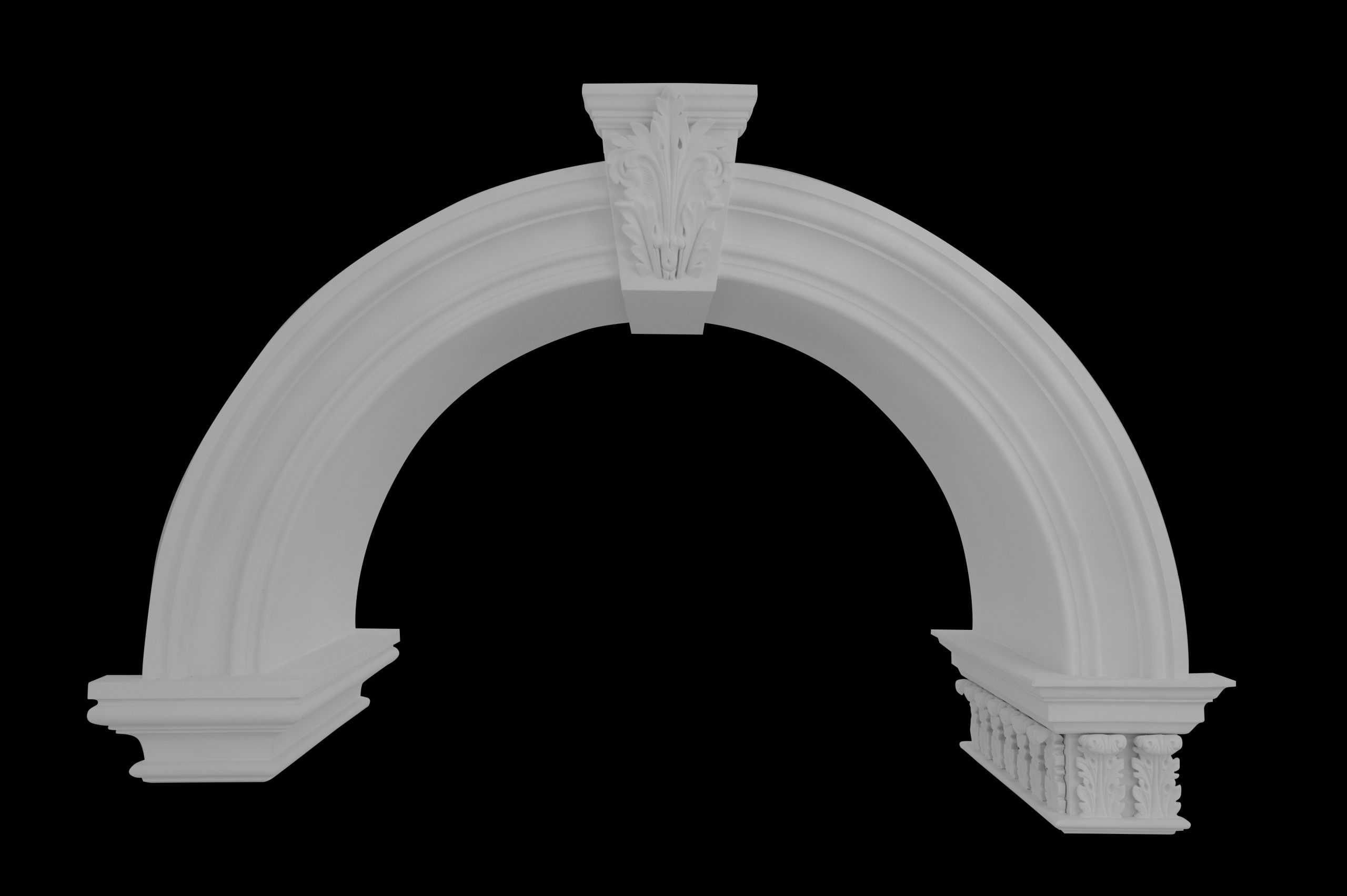 Arches/Arch Sweeps/Capitals/Neck Moulds
